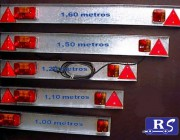 Instalación eléctrica con chapa galvanizada (varias medidas)