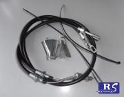 Juego cables freno para ejes (kit sirgas)